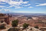 Mesa Arch Canyonlands Vista