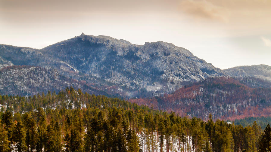 Mountain of Granite by CharlieA-Photos
