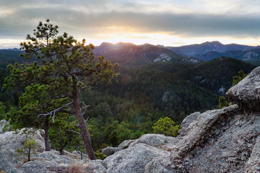 Iron Mountain Sunset by CharlieA-Photos
