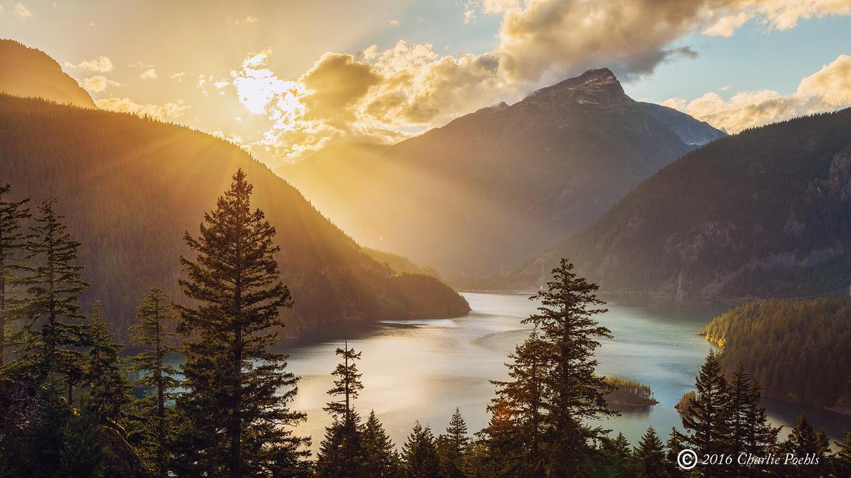 Cascades of Light by CharlieA-Photos