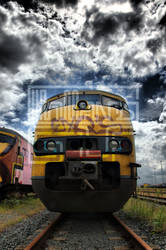 train comming by hollandsgif