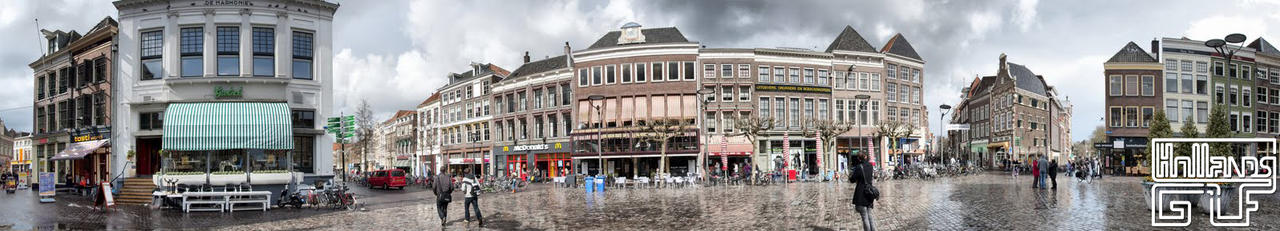 Hdr panorama Zwolle