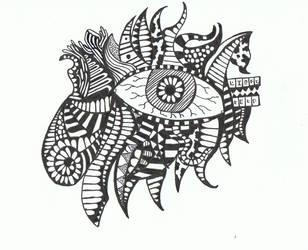 Doodle No.5 ''Perceptive Insomnia'' by Felderanto
