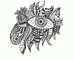 Doodle No.5 ''Perceptive Insomnia''