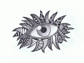 Doodle No.8 ''Perceptive Insomnia 2'' by Felderanto