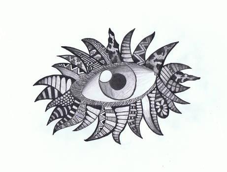 Doodle No.8 ''Perceptive Insomnia 2''