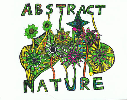 Doodle  No.10  ''Abstract Nature''