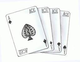 Doodle No.13 ''Straight Aces''