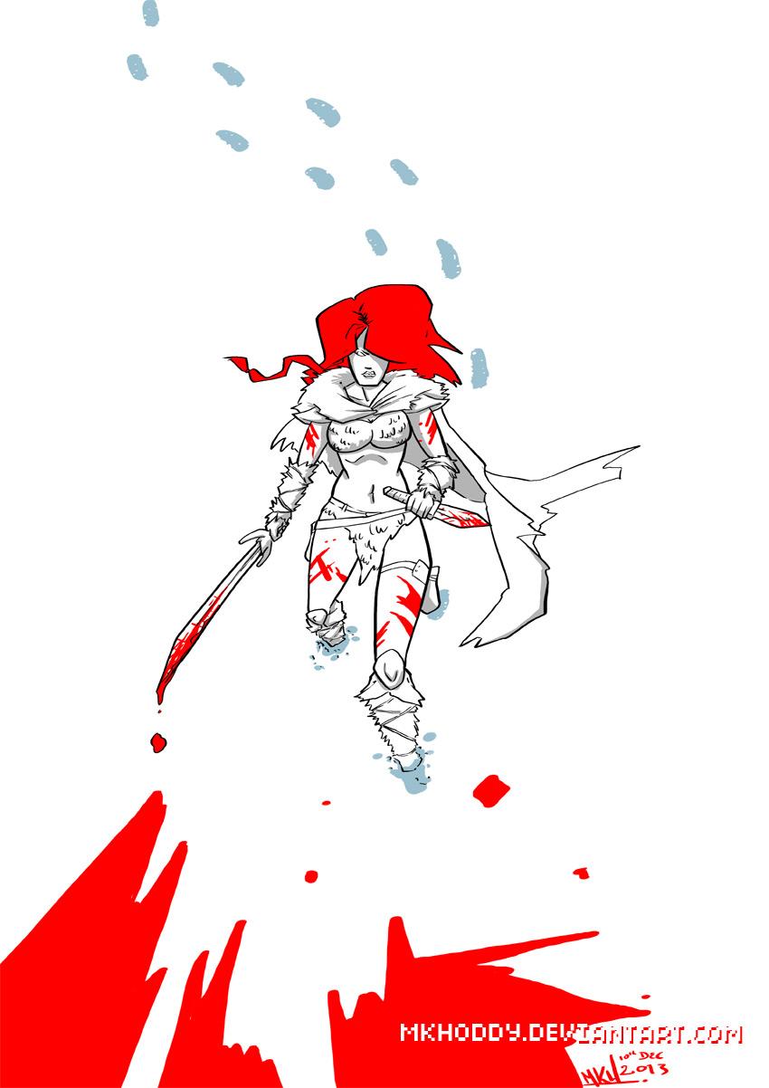 Red Sonja by mkhoddy