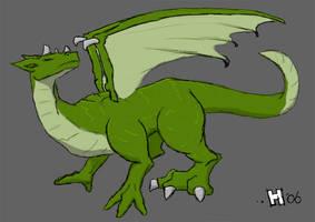 Sir Matthew's Dragon - Colour by mkhoddy