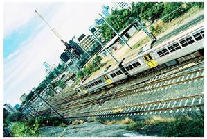 Train by mkhoddy