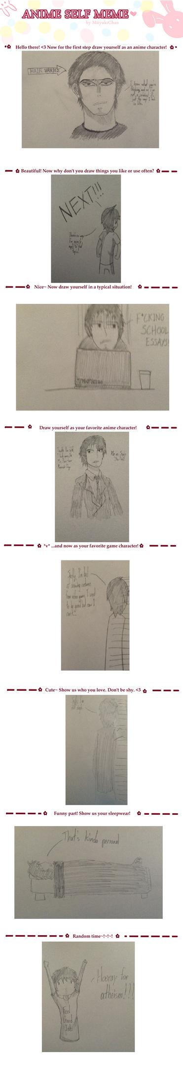 Anime Self Meme by KeybladeDesigner15