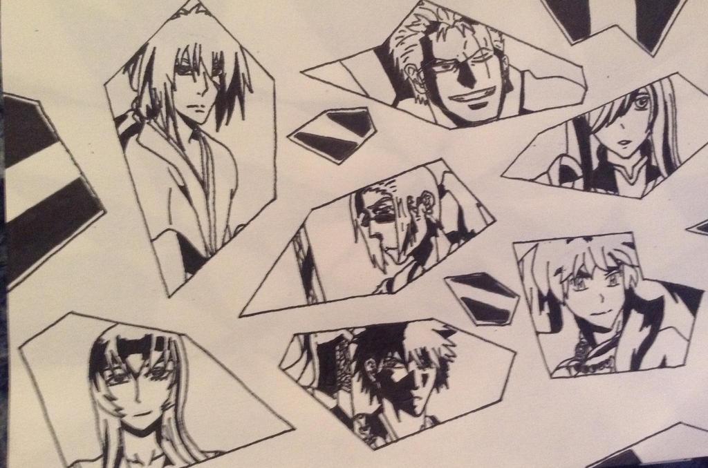 Seven Samurai (Anime Edition) by KeybladeDesigner15