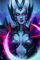 Dota 2 - Vengeful Spirit by Arcan-Anzas