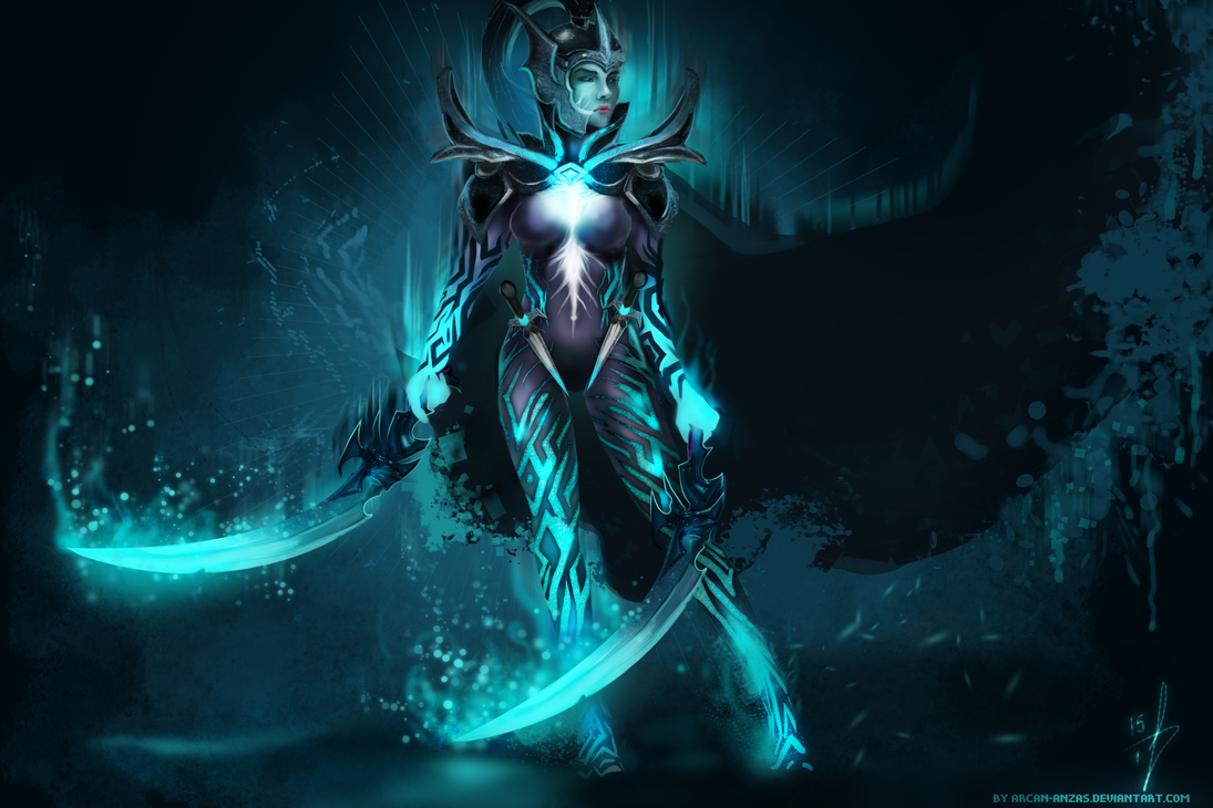 Dota 2 - Phantom Assassin by Arcan-Anzas on DeviantArt