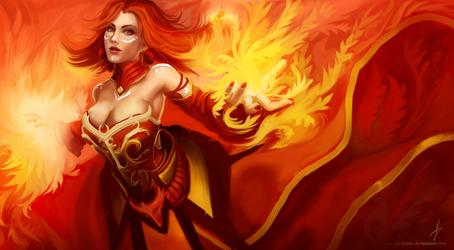 Dota 2 - Lina The Slayer II