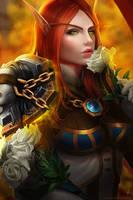 CM: High Priestess Aerieondra by Arcan-Anzas