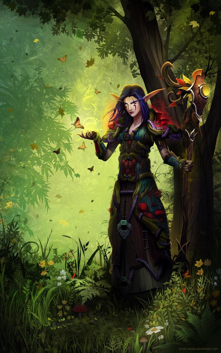 CM: Druid's magic by Arcan-Anzas