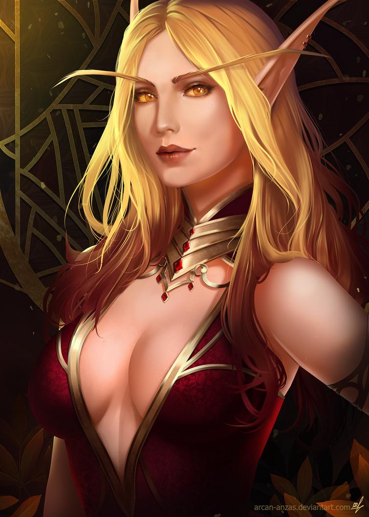 Faerin Darkheart by Arcan-Anzas