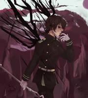THE SALT KING Yuuichirou Hyakuya-OnS by Lilithenisha