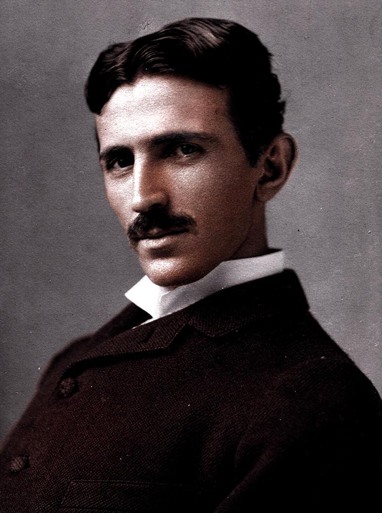 Nikola Tesla By Grindguy On Deviantart