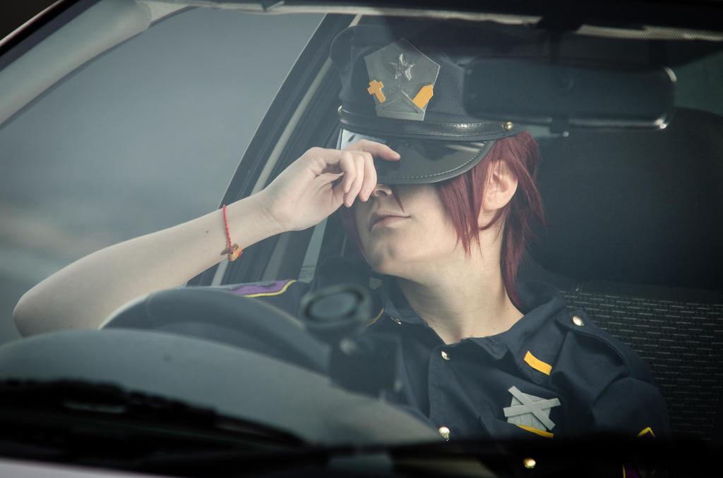Police Rin Matsuoka _ FREE! Eternal Summer by Yamaki-Chiya