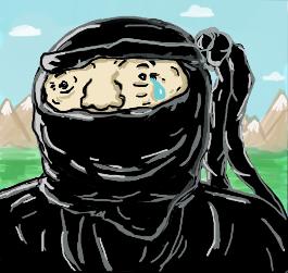 Mini Sad Ninja by minjae on Etsy