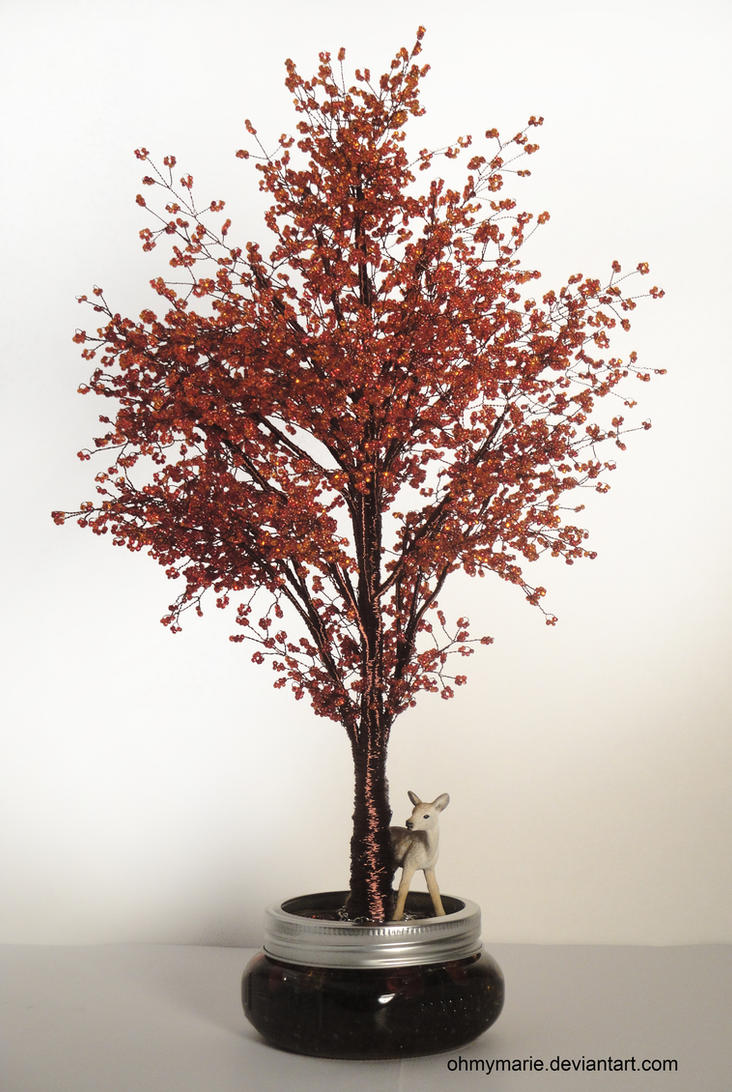 red maple tree erable rouge by ohmymarie on deviantart