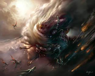 god of thunder by zzjimzz