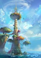 lighthouse by zzjimzz