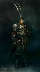 WarriorofAncientChinaConcept