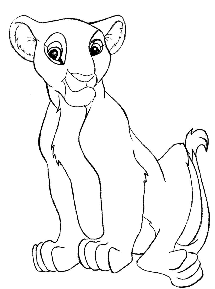 Nala coloring pages