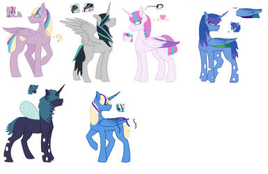 Orchardverse:Redesigned royals