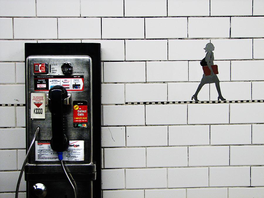 Subway Phone by whosclimbing