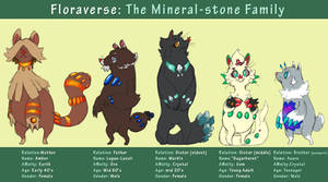 Sugar Burst and her family- The Mineral Stone