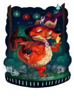 Holloween Dragon by procon-8