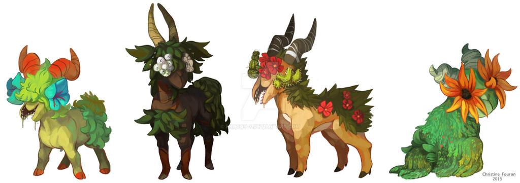 Fauna Goats by procon-8