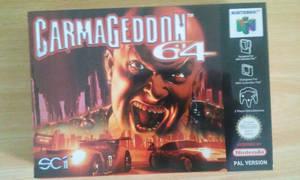 Carmageddon 64 sealed - front