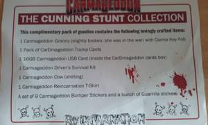 Reincarnation contents sheet
