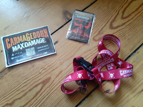 Carmageddon: Max Damage promo goodies