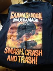 Carmageddon: Max Damage promo t-shirt by WarriorRazor