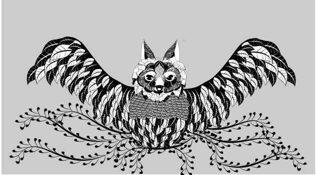 Leaf Owl by GuzuGuzu32