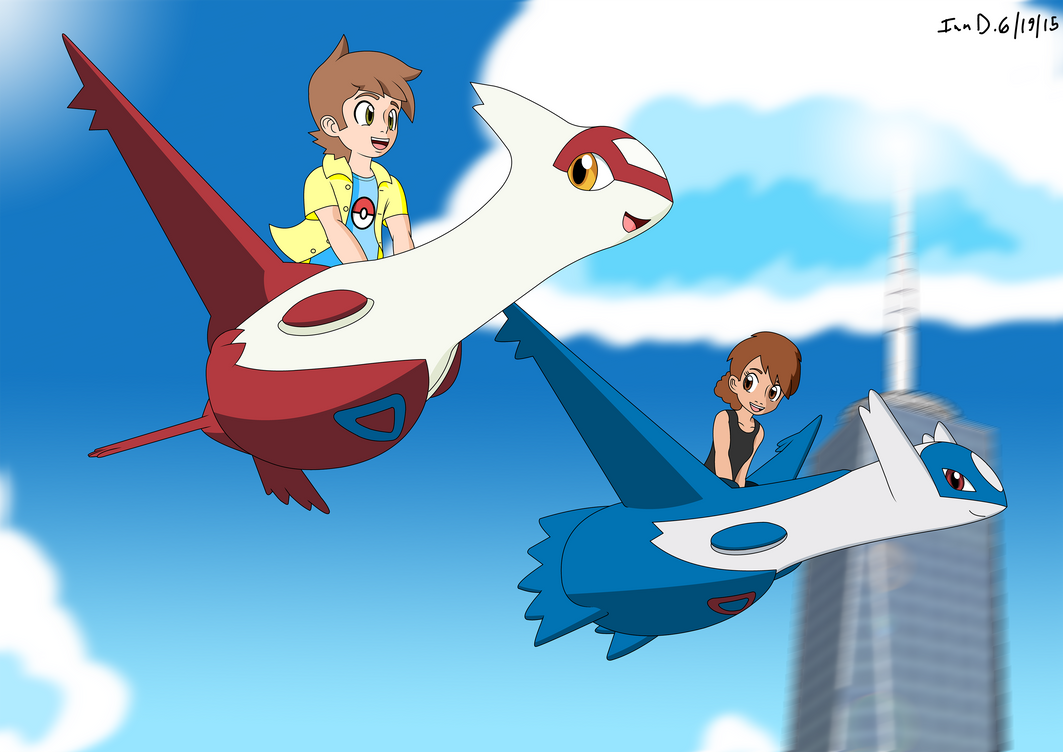 latios and latias kiss - photo #39