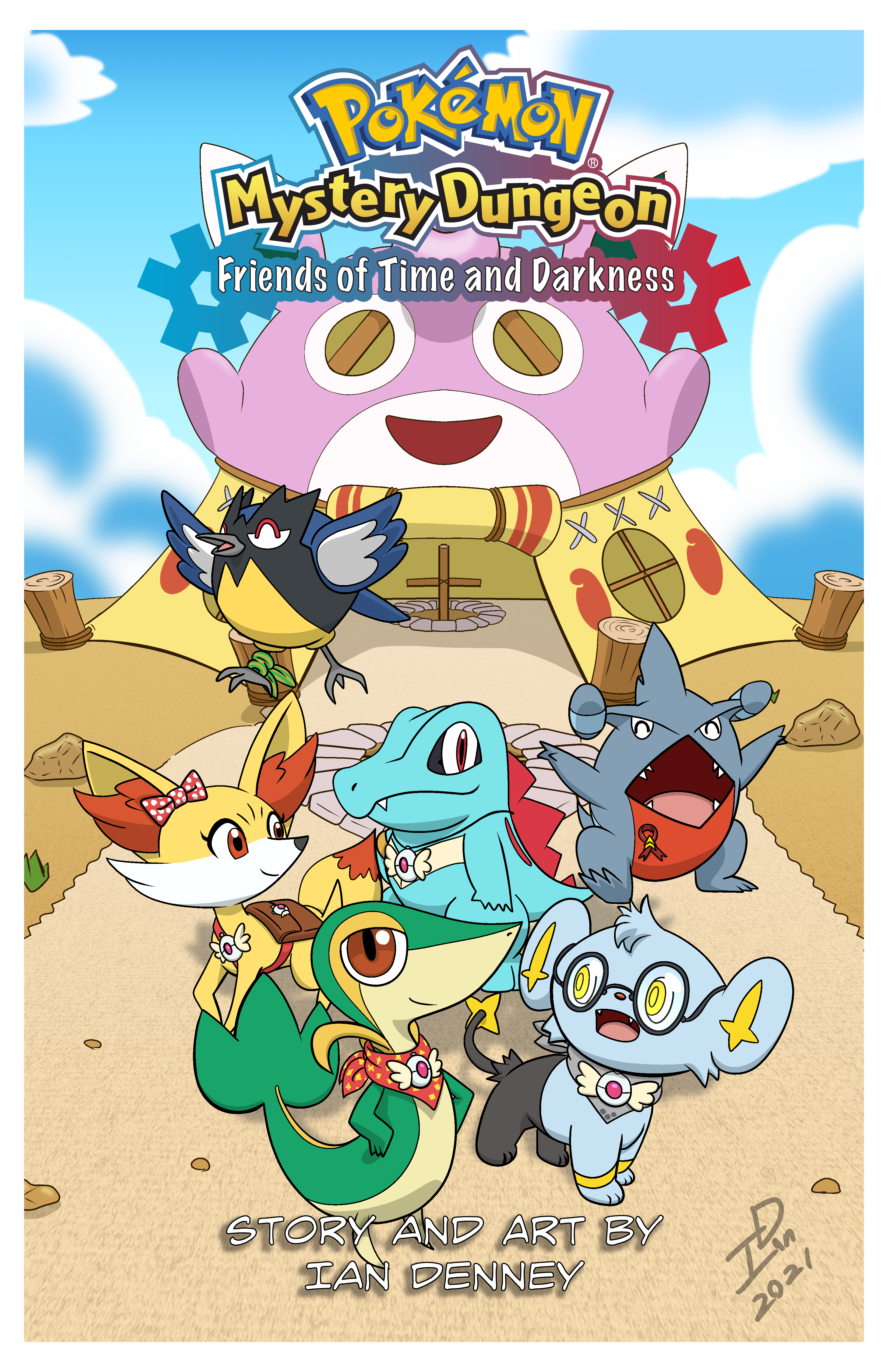 Friends of Time and Darkness (Main Cover)