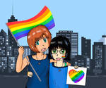 Pride, in the name of love by Suichi-Ameria