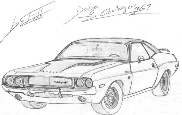 Dodge Challenger 1969 By Fx2b On Deviantart