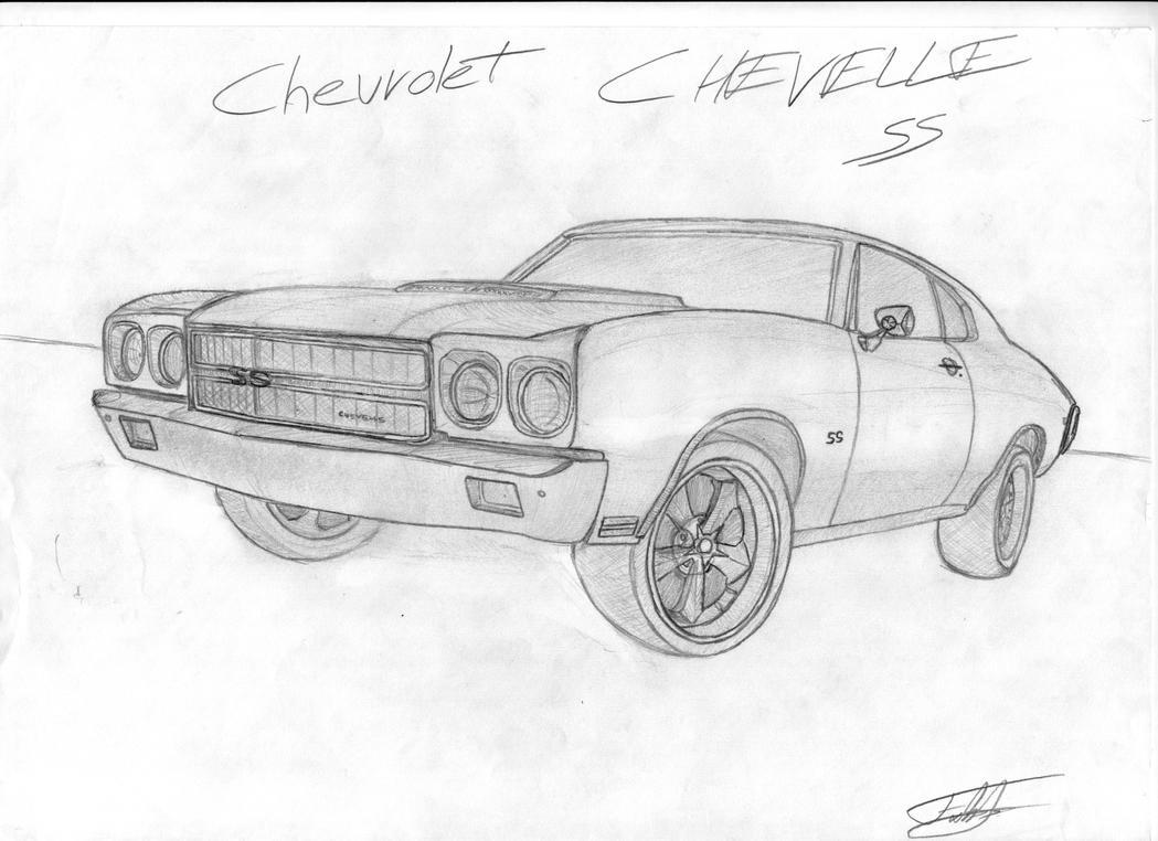 Chevrolet Chevelle SS 1970 by fx2b