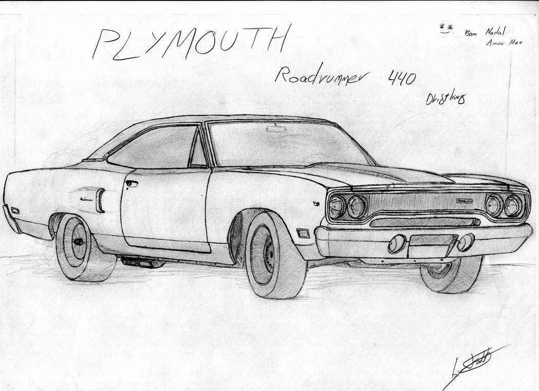 Plymouth Roadrunner 440 1970 By Fx2b On Deviantart