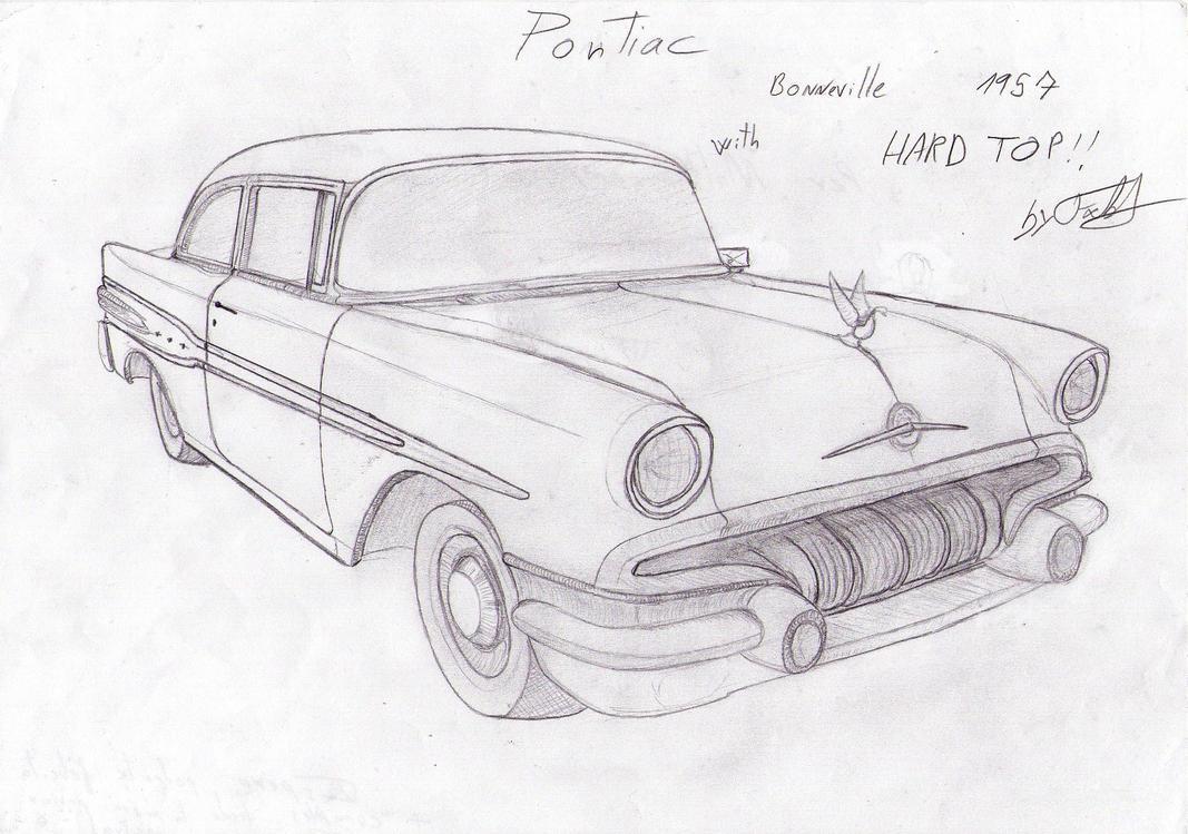 Pontiac 1957 by ~fx2b on