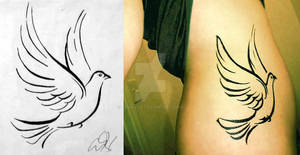 Dove Design - Tattoo